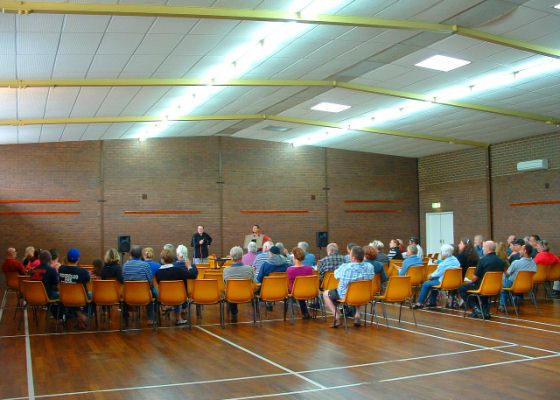 AHMAG Residents Meeting at Wundowie Community Hall
